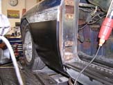 1968 MGB Fender Repair