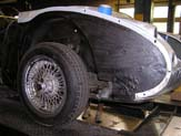 1967 Austin Healy 3000 Finishing Undercoating