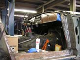 1967 Austin Healy 3000 Frame and Cabin Repair