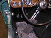 1967 Austin Healy 3000 New Carpeting Installed