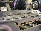 1967 Austin Healy 3000 Replacement Cowl Installed